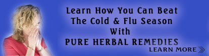 Learn How You Can Beat The Cold & Flu Season With Pure Herbal Remedies