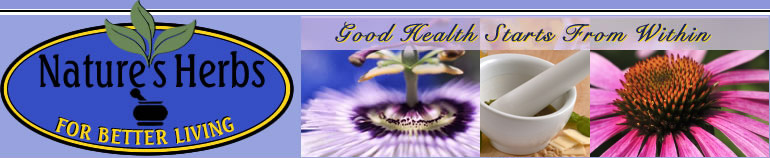 Nature's Herbs For Better Living - Good Health Stars From Within