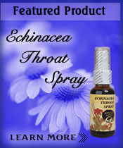 Featured Product: Echinacea Throat Balm.
